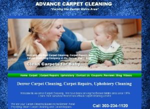 Adv ance Carpet Cleaning Denver CO